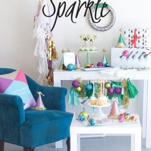 A season to sparkle holiday party inspiration #thepartyhop