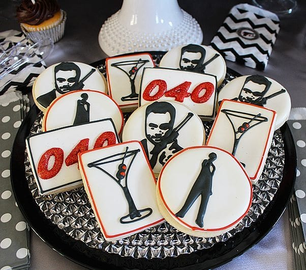 He's Aged to Perfection | James Bond Cookies