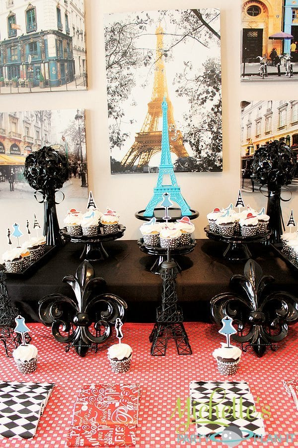 """A Day in Paris"" Desserts and decor"