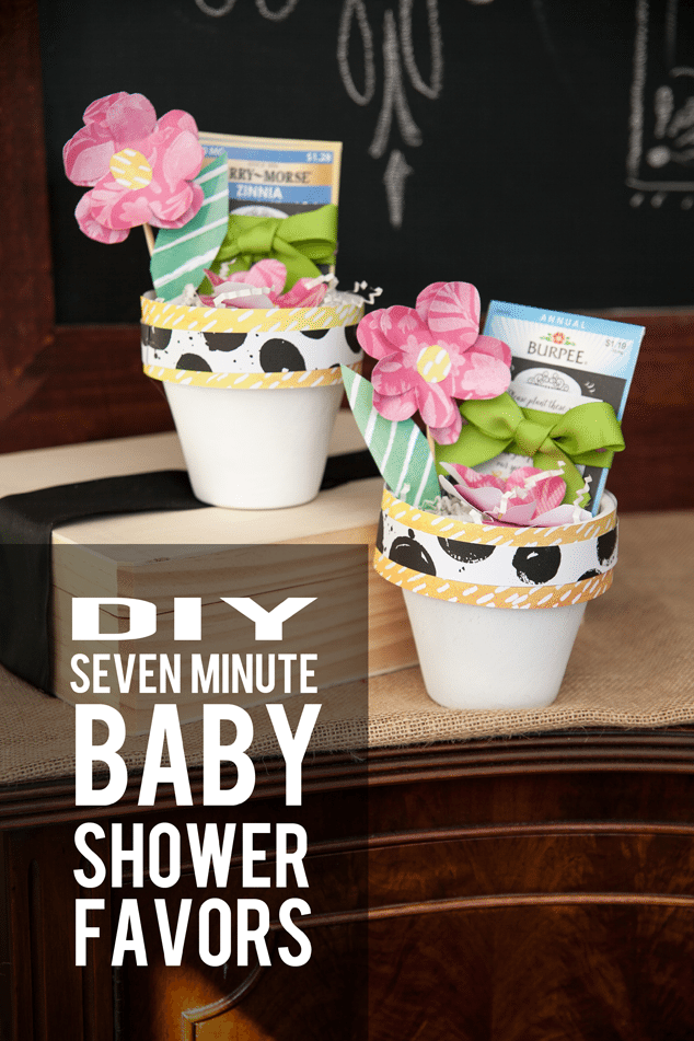 Seed Baby Shower Favor