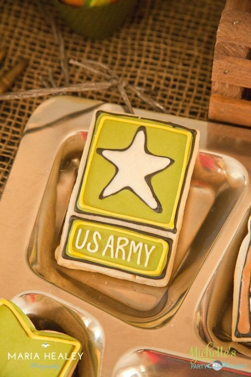US Army Cookie
