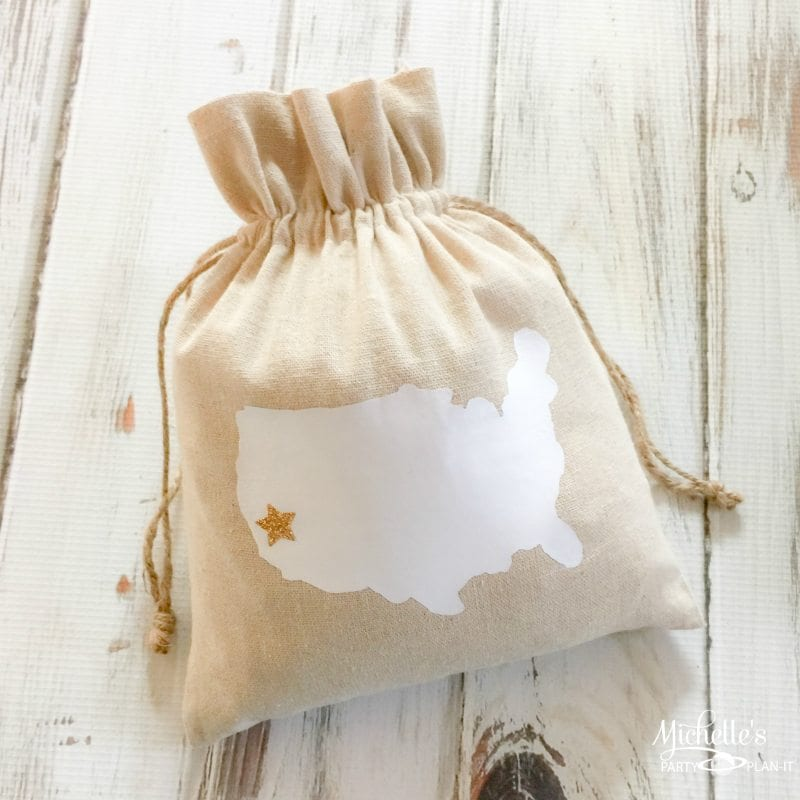 State Gift Bag Tutorial