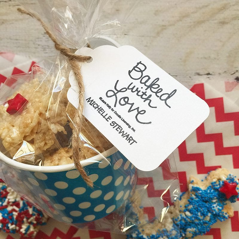 Fourth of July Cereal Treats #expressioneryBAKES