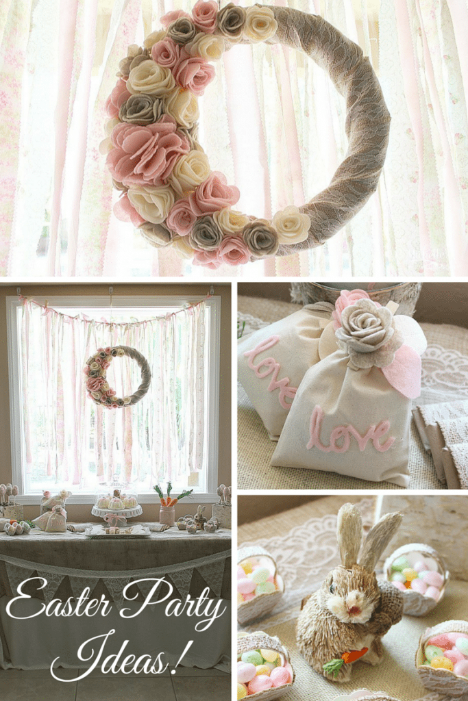 Rustic Easter Party Ideas