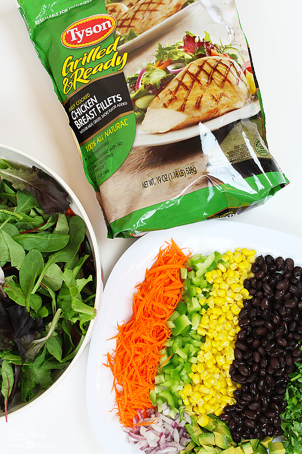 Easy Back To School Salads