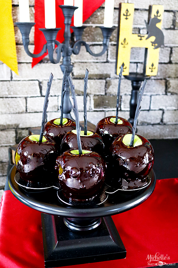 Harry Potter Candy Apples