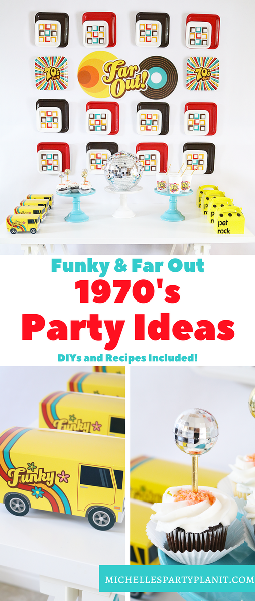 Easy and fun 1970s party ideas