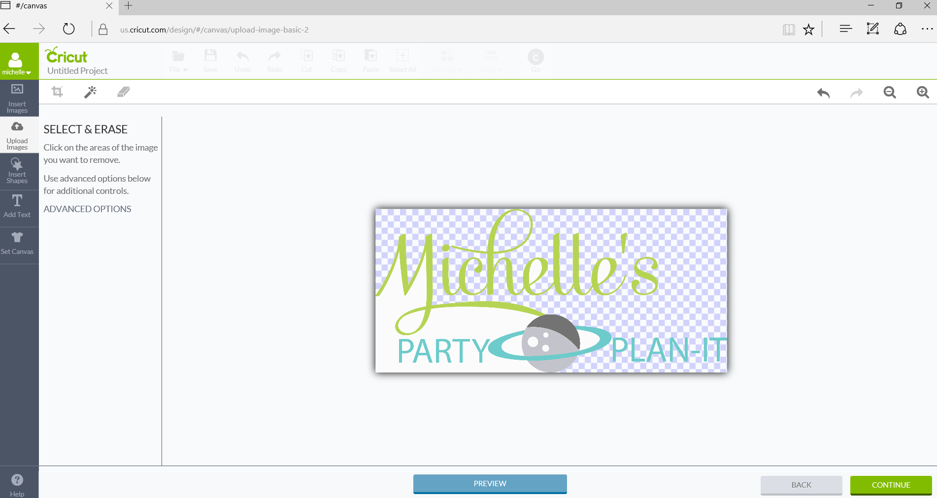 How to Upload Your Own Images with Cricut Explore Air 2 Image Selection