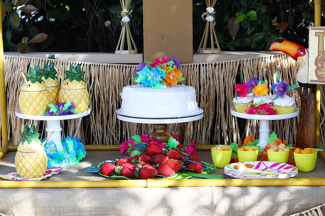 Celebrate with a Bright Luau Tablescape