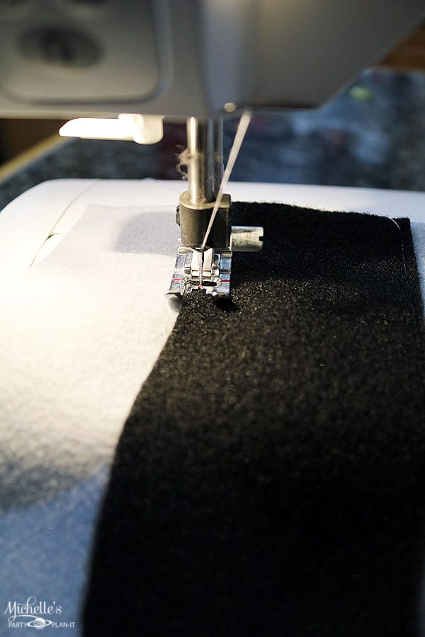 sewing the road