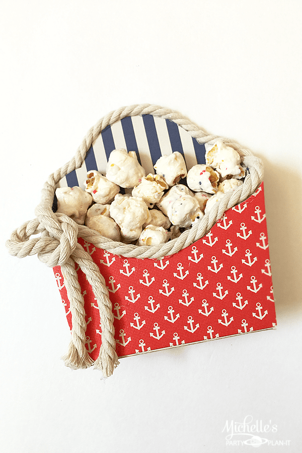 Easy Nautical Treat Boxes