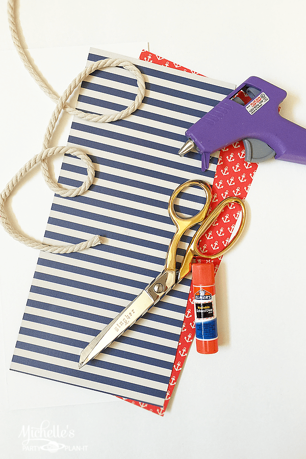 Nautical Party Favors