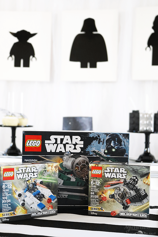 Star Wars Lego Party Favors