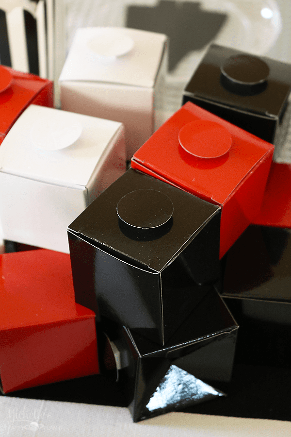 Star Wars Lego Party Favor Boxes