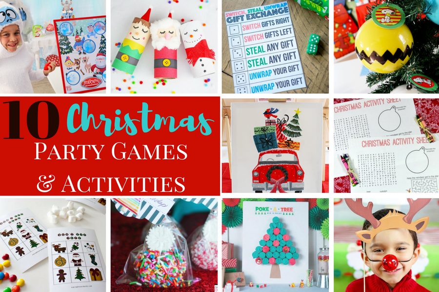 10 christmas party games and activities