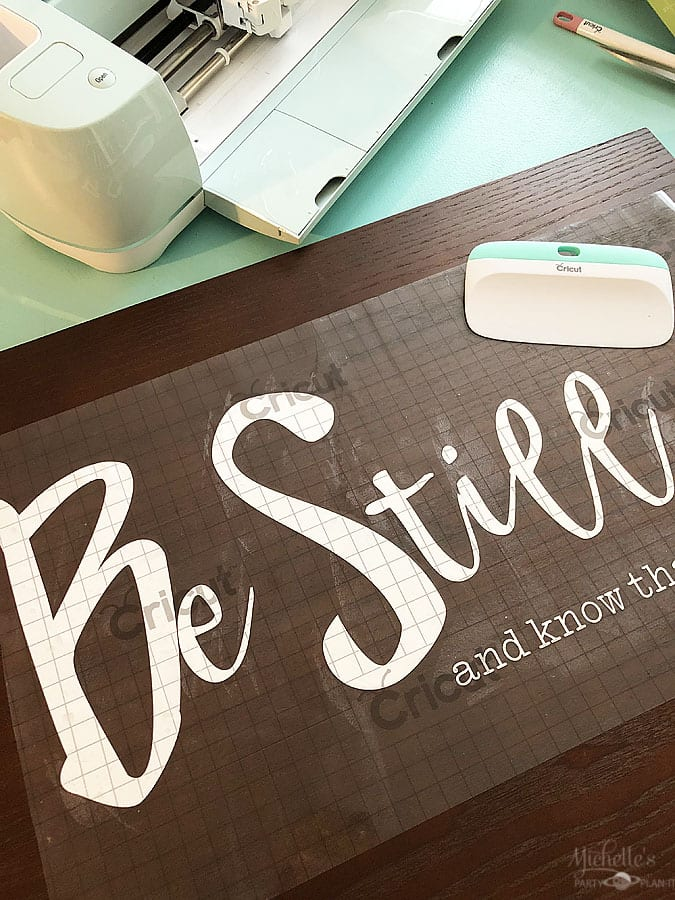 DIY Scripture Sign with Cricut