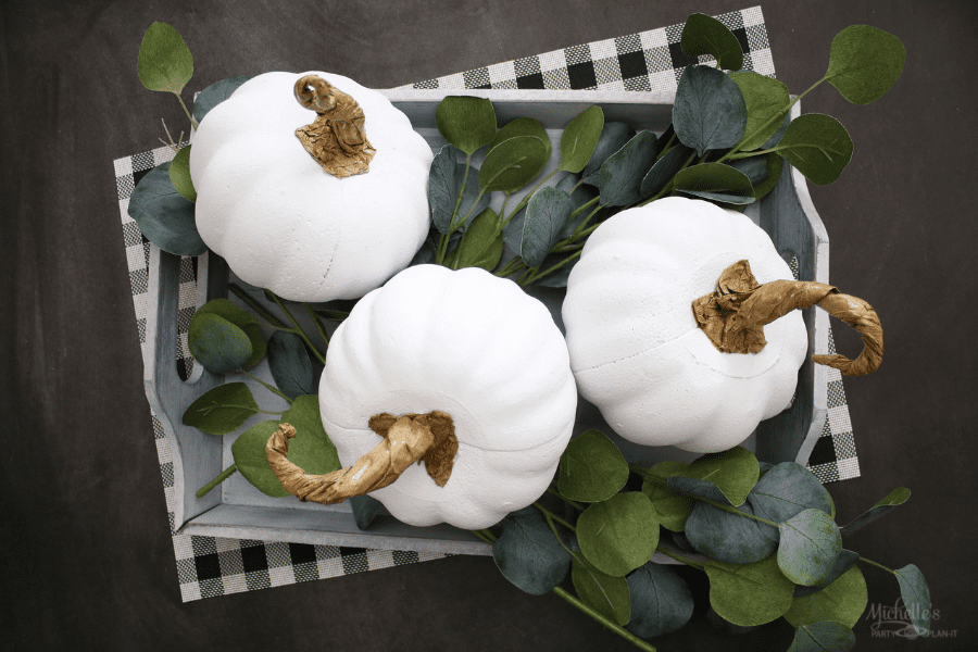 DIY Farmhouse Pumpkins