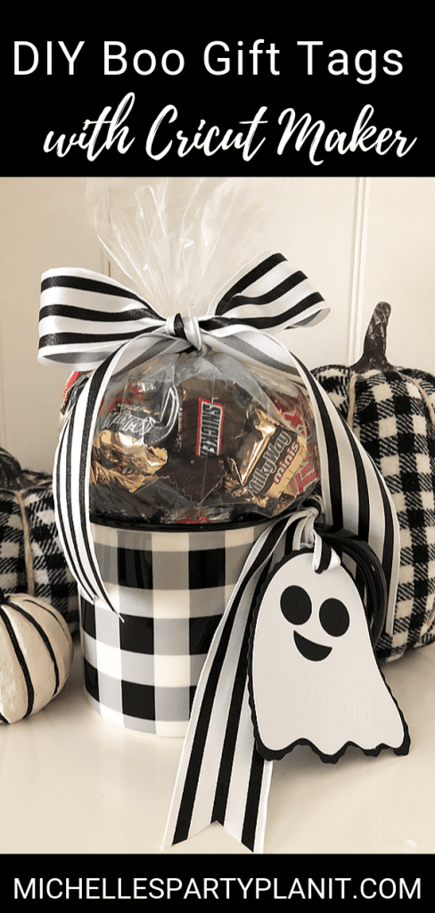 Diy boo gift tags