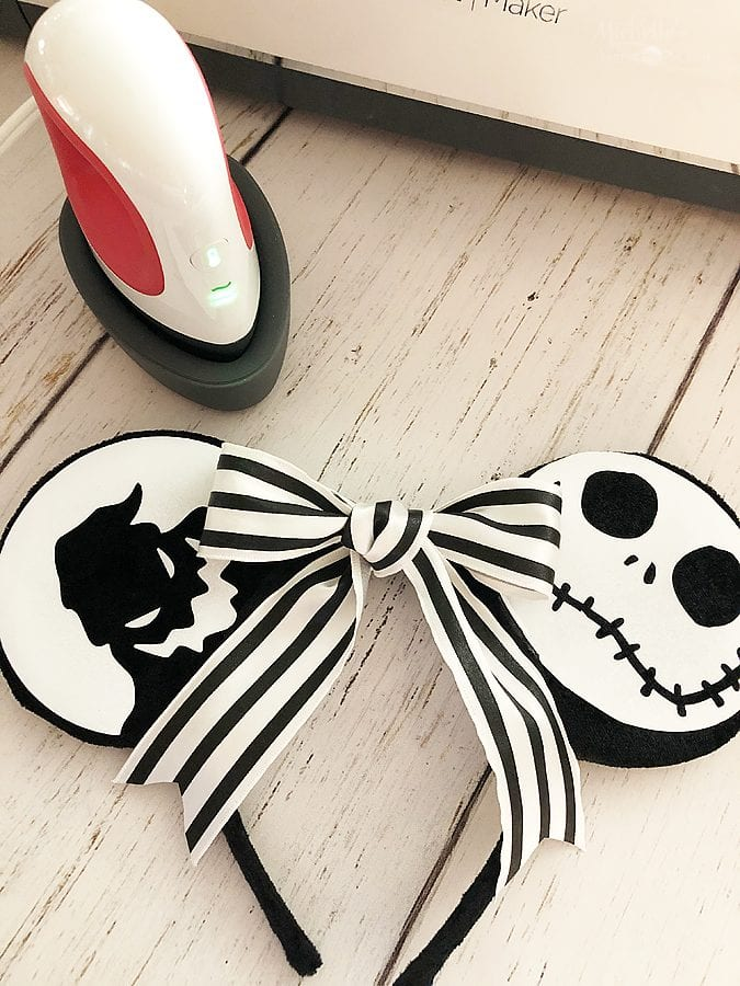 Nightmare before christmas minnie ears 8