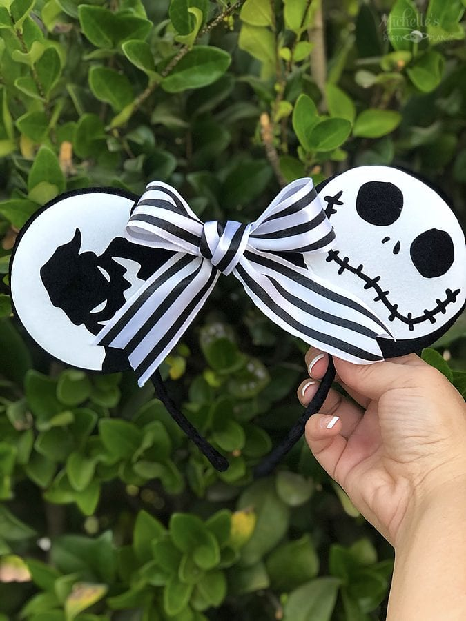 Nightmare before christmas minnie ears 9